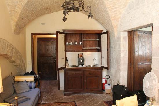 San Crispino Historical Mansion: minibar