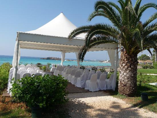 Nissi Beach Resort : Perfect wedding venue