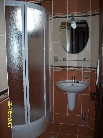 Ozturk Hotel Hisaronu: shower & toilets
