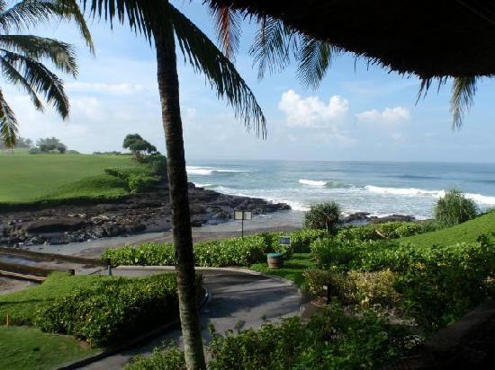Pan Pacific Nirwana Bali Resort: View from the villa Bale