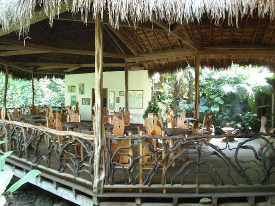Liana Lodge : Blick in das Restaurant / View of the Restaurant
