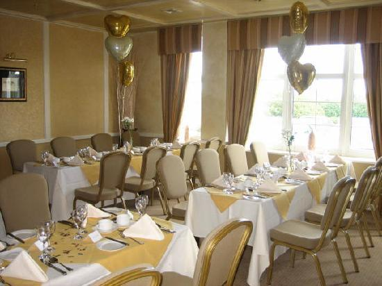 Alveston House Hotel: All set up for a birthday clebration at the Alveston