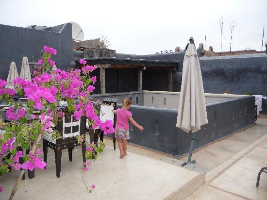 Riad Alamir: terrasse
