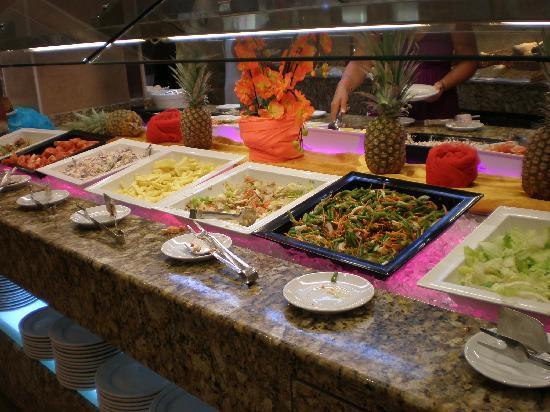 Hotel Condesa de la Bahia: La comida muy buena