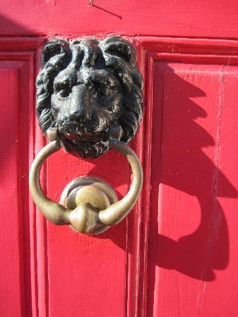 Manor House: The front door