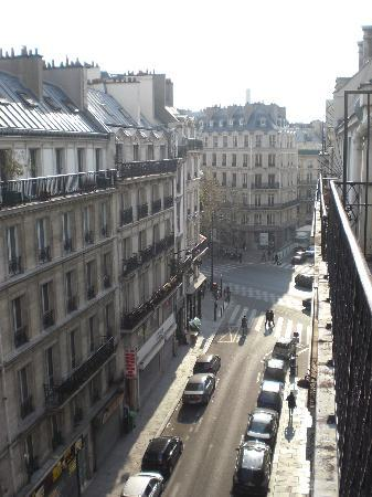 Hotel de Roubaix: Blick von unserem Balkon
