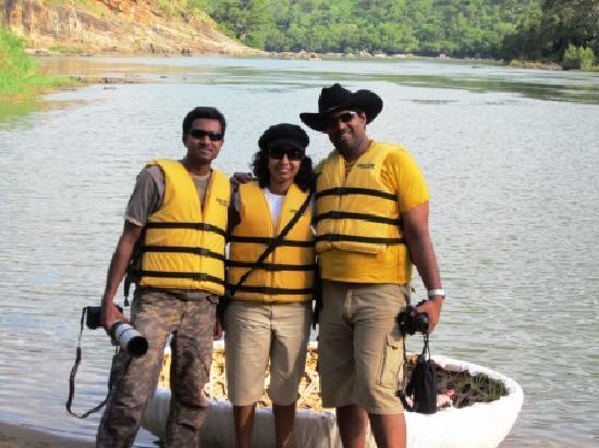 Doddamakali Nature Camp : Coracle ride..
