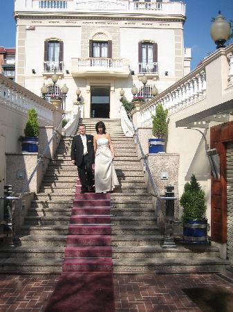 Sant Boi de Llobregat, Spania: En la entrada del restaurante