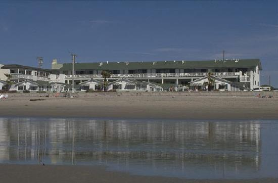 The Beach Cottages : View from the beach