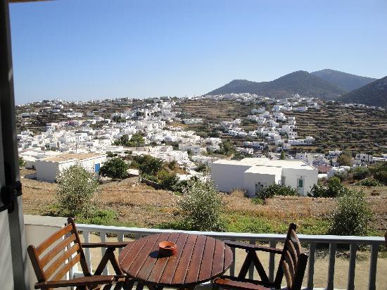 Petali Village Hotel: vue depuis chambre