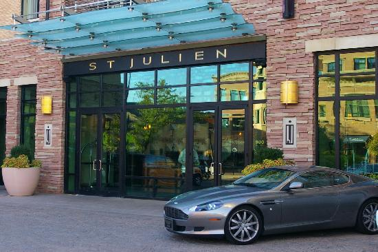 St Julien Hotel And Spa Entrance