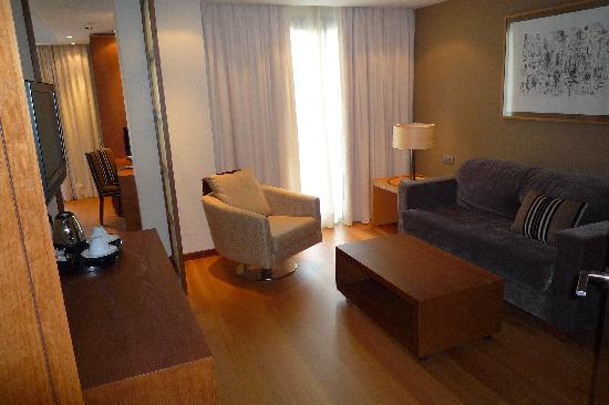 Protur Biomar Gran Hotel & Spa: Our sitting room and 2nd balcony.