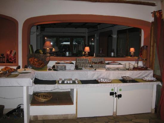 Kilina Hotel : buffet petit dej