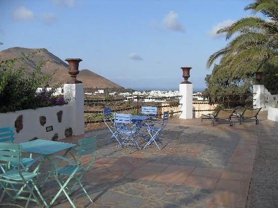 Casa de Hilario: terrasse pour le petit dejeuner