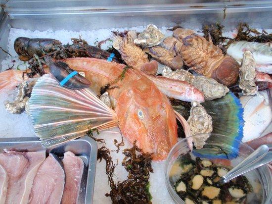 Acitrezza, Italia:                   il banco del pesce