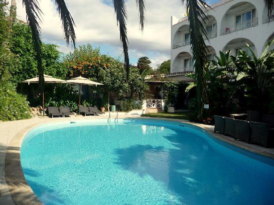 garten mit pool - picture of hotel simius playa, villasimius, Best garten ideen