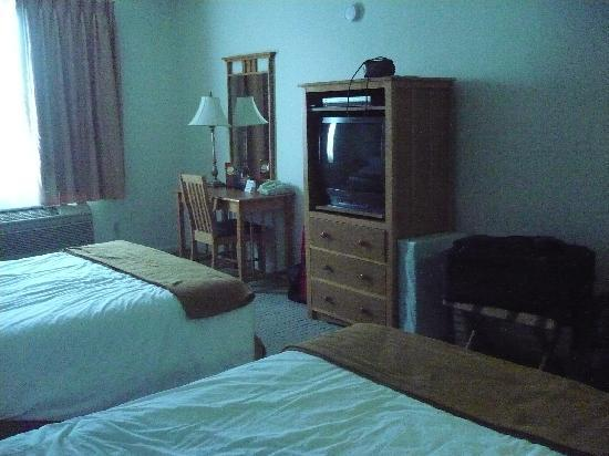 """La Quinta Inn & Suites Los Banos : beds were neater, my kids had """"tested"""" them when we arrived"""