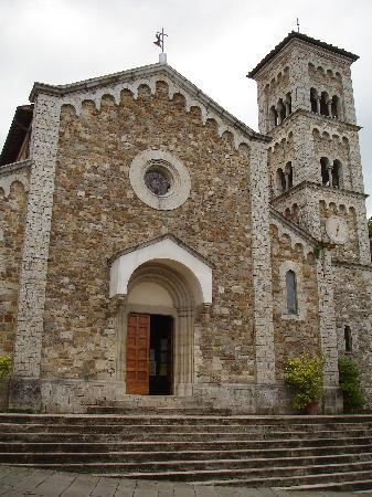 Castellina In Chianti, Italien: The church in Castellina