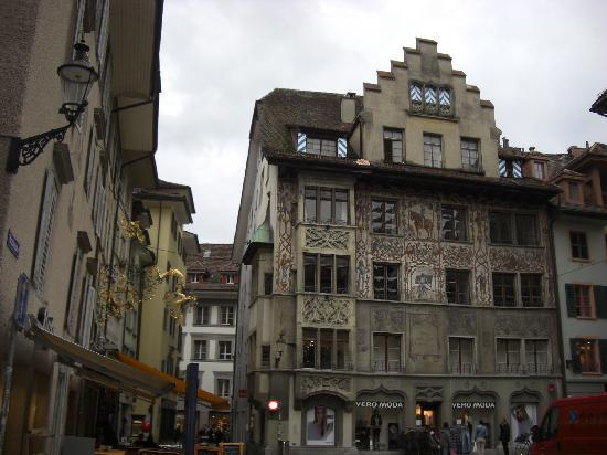 Lucerne, Switzerland: Old Town Buildings