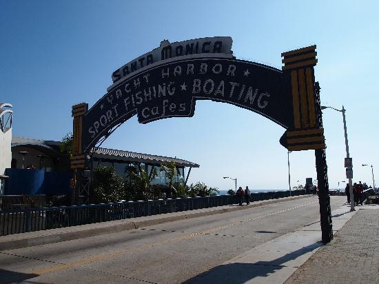 Santa Monica Pier: Iconic Neon Pier Sign