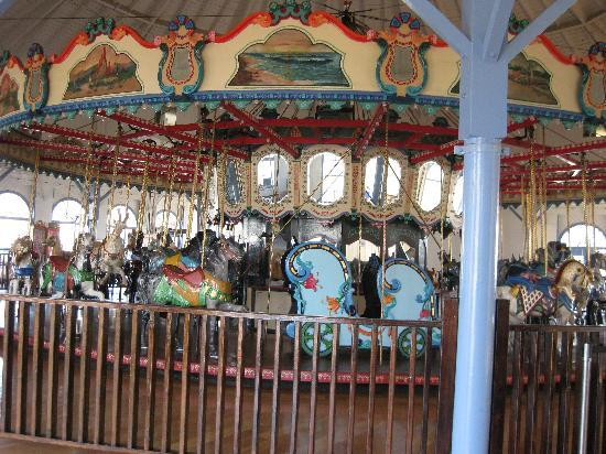 Santa Monica Pier: Carousel on the Pier