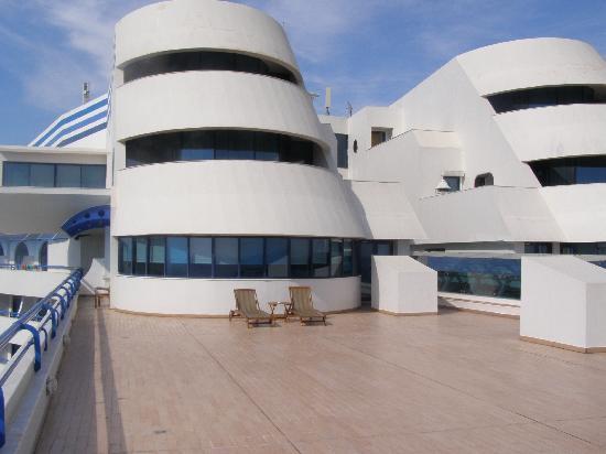 Titanic Beach Lara Hotel: Our Balcony
