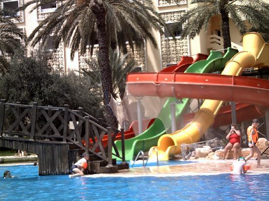 Hotel Marhaba: Water slides