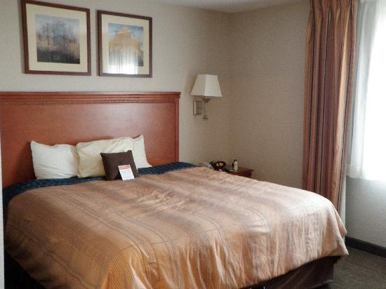 Candlewood Suites Destin-Sandestin: The bedroom in the King Suite