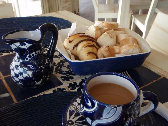 Villa Las Estrellas: continental breakfast plus fruit