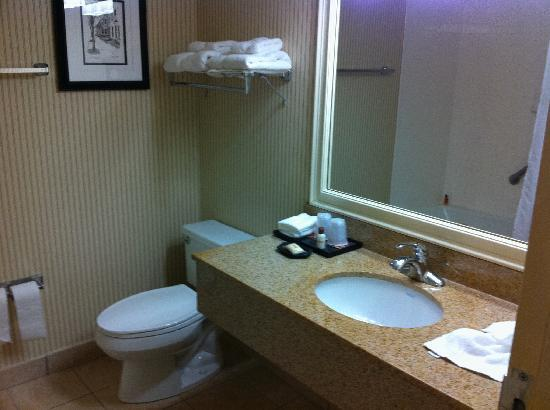 Four Points by Sheraton Richmond: Small but nicely furnished bathroom