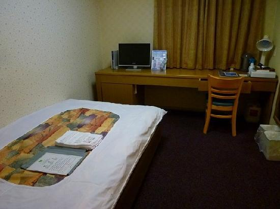 Dormy Inn Express Soka City : Dormy inn Yatsuka-bed room