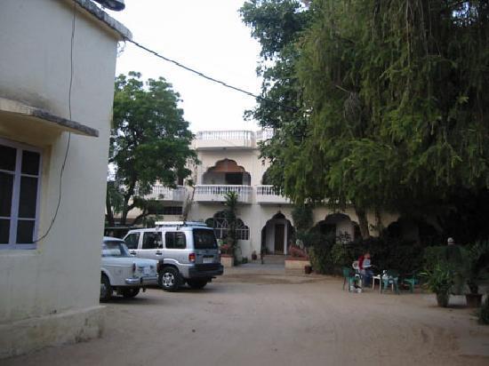 Shahar Palace: 入り口
