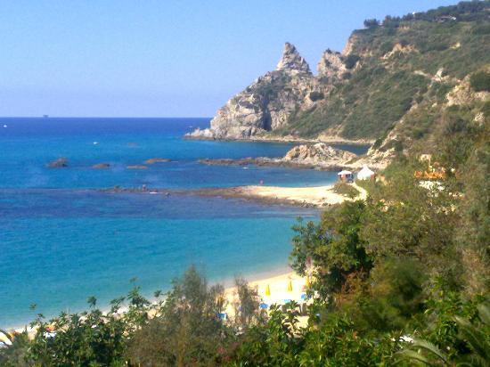 Hotel Baia del Capo: Hotelstrand