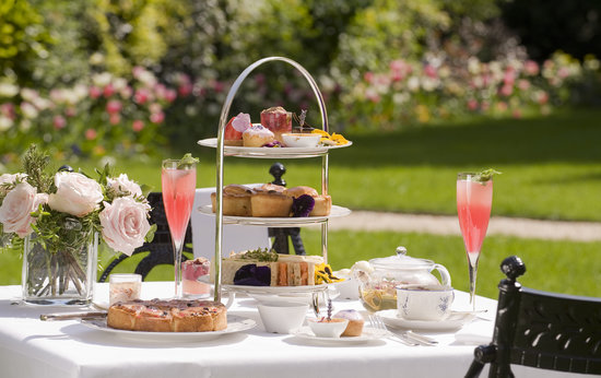 The Goring Dining Room: Afternoon Tea on the Veranda