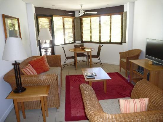 Sheraton Denarau Villas: Two Bedroom Villa - lounge area