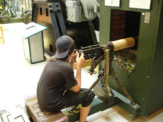 Firepower The Royal Artillery Museum : Maschinengewehr