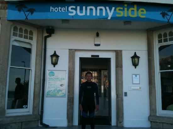 Hotel Sunnyside Newquay: Hotel entrance
