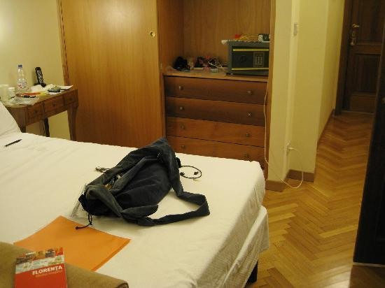 Hotel David: My room (no. 22)