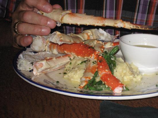 Kalispell, Монтана: Blue Canyon Alaskan Crab Legs