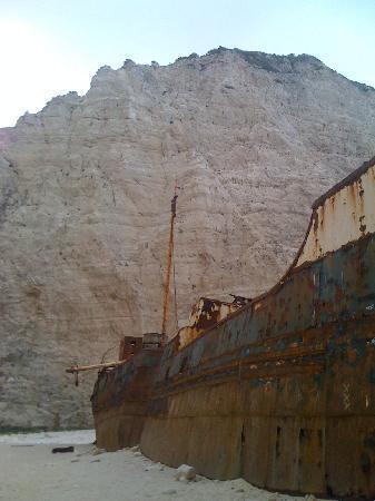 Tsilivi, Greece: the shipwreck, crowd free!