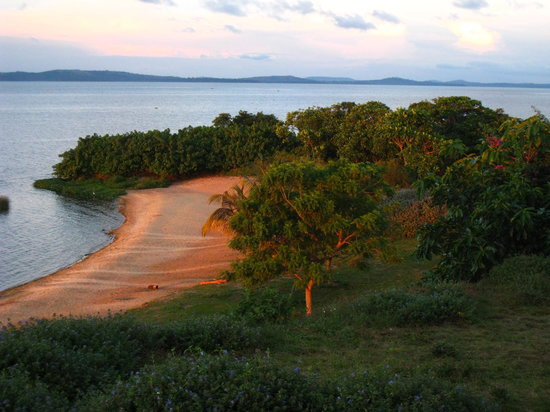 Uganda: Private Beach