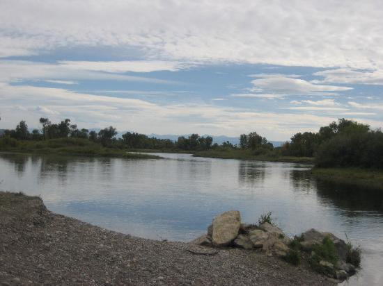 Three Forks, Монтана: The start of the Missouri River