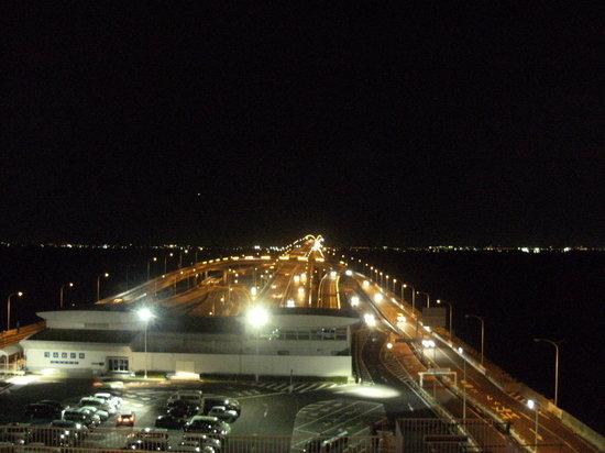 Kisarazu, Japón: アクアラインと対岸の灯り
