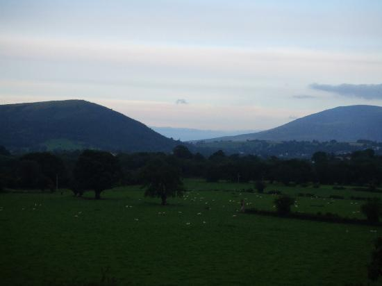 Middle Ruddings Country Inn: Wet Wordsworth country