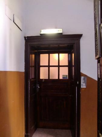 Gambara Hotel: Eingang