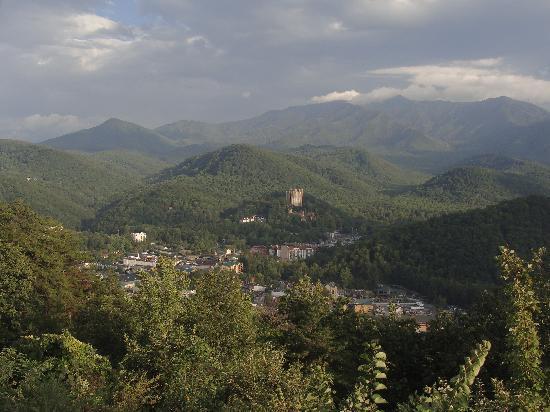 The Highlands Condominium: View of Gatlinburg