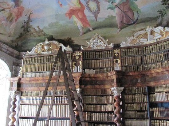 Nova Rise, Tsjekkia: the famous library
