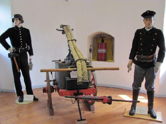 Feuerwehrmuseum: display