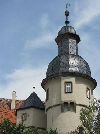 Feuerwehrmuseum: belltower close-up
