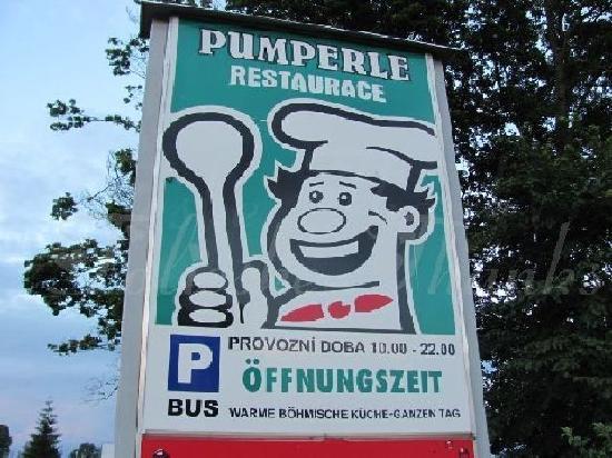 Pumperle: sign